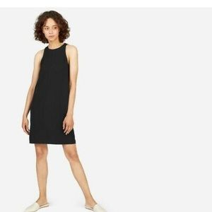 Everlane Japanese GoWeave High neck tank dress